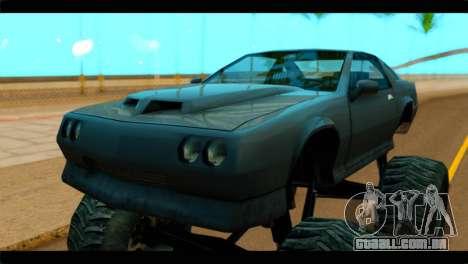 Monster Buffalo para GTA San Andreas vista direita
