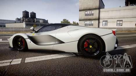 Ferrari LaFerrari 2013 HQ [EPM] para GTA 4 esquerda vista