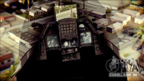 P-996 Lazer para GTA San Andreas vista traseira