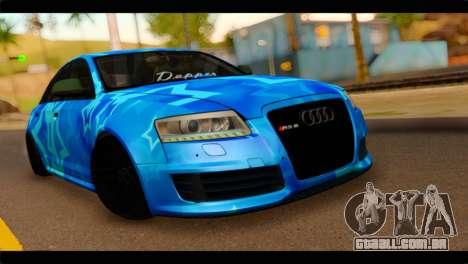 Audi RS6 VIP Star para GTA San Andreas