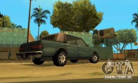 Beta VC Greenwood para GTA San Andreas vista traseira