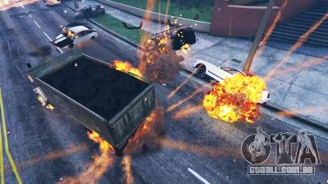 GTA 5 O enfraquecimento do veículo segundo screenshot