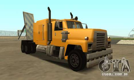 PS2 Tanker para GTA San Andreas esquerda vista