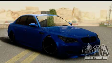 BMW M5 E60 Stanced para GTA San Andreas