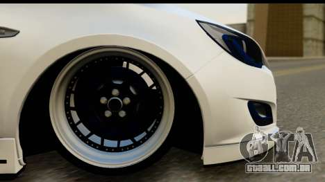 Opel Astra J para GTA San Andreas vista traseira