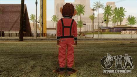 Monkey from GTA 5 v3 para GTA San Andreas segunda tela