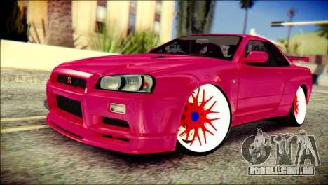 Nissan Skyline GTR V Spec II para GTA San Andreas