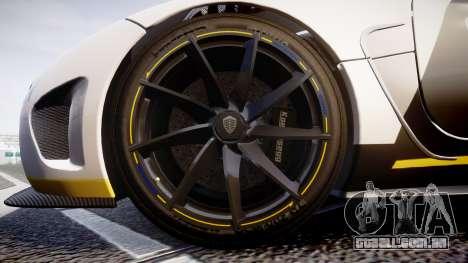 Koenigsegg Agera 2013 Police [EPM] v1.1 PJ1 para GTA 4 vista de volta