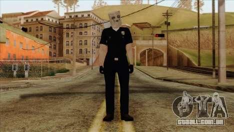 Skin 3 from Heists GTA Online DLC para GTA San Andreas