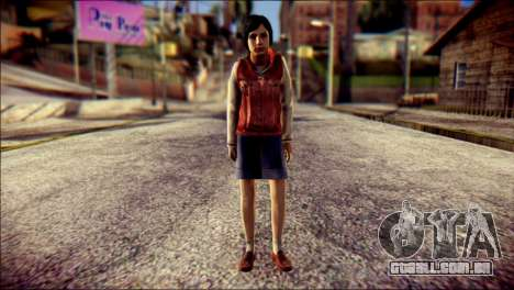 Sofia Child Skin para GTA San Andreas