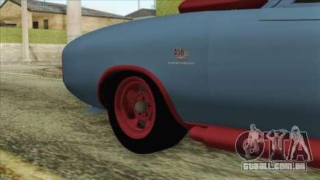 GTA 5 Imponte Dukes ODeath HQLM para GTA San Andreas traseira esquerda vista