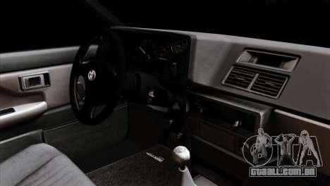Toyota AE86 para GTA San Andreas vista direita