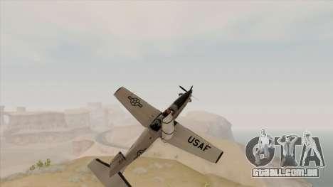 EMB T-6A Texan II US Navy para GTA San Andreas vista direita