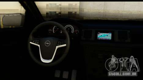 Opel Vectra para GTA San Andreas vista interior