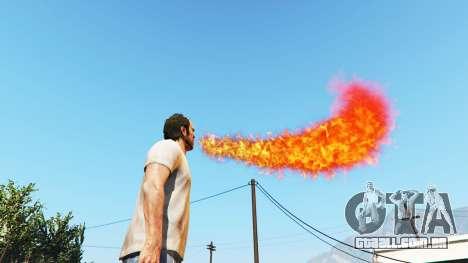 Cuspidor de fogo para GTA 5