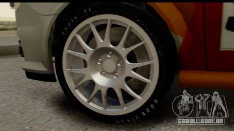 Opel Vectra para GTA San Andreas vista traseira