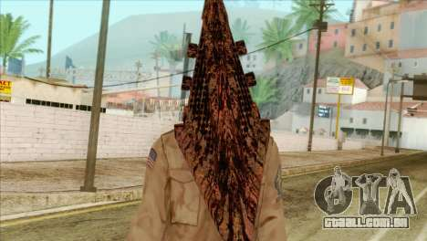 Bogeyman Alex Shepherd Skin without Flashlight para GTA San Andreas terceira tela