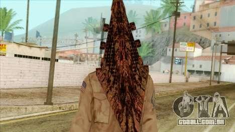 Bogeyman Alex Shepherd Skin without Flashlight para GTA San Andreas terceira tela