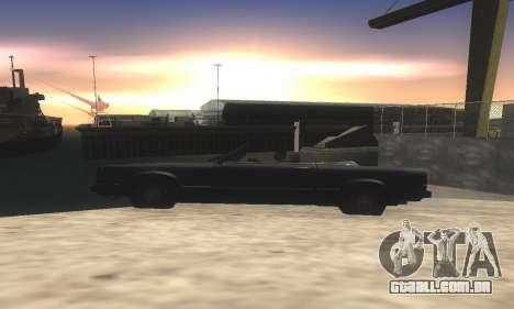 ENB v1.9 & Colormod v2 para GTA San Andreas por diante tela