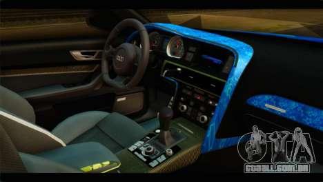 Audi RS6 VIP Star para GTA San Andreas vista direita