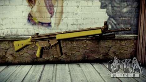 HK G3 Flashlight para GTA San Andreas