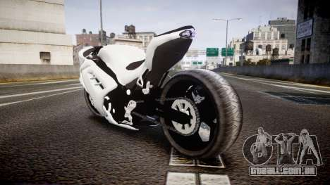 Kawasaki Ninja 250R Tuning para GTA 4 traseira esquerda vista