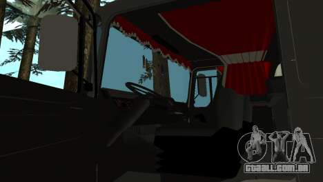 Roman Bus Edition para vista lateral GTA San Andreas