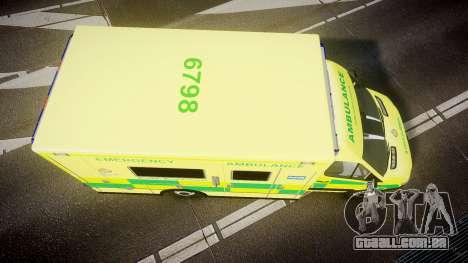 Mercedes-Benz Sprinter Ambulance [ELS] para GTA 4 vista direita