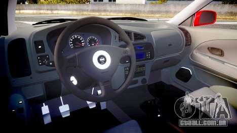 Mitsubishi Lancer Evolution VI 2000 Rally para GTA 4 vista de volta