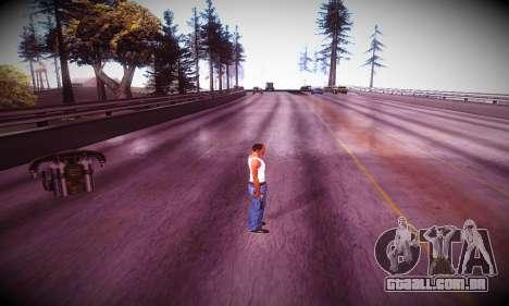 Ebin 7 ENB para GTA San Andreas sexta tela