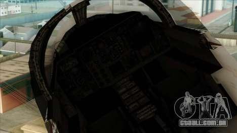 SU-27SK Indonesian Air Force para GTA San Andreas vista direita