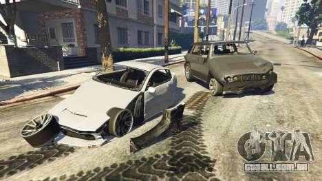 Aumento da deformação para GTA 5