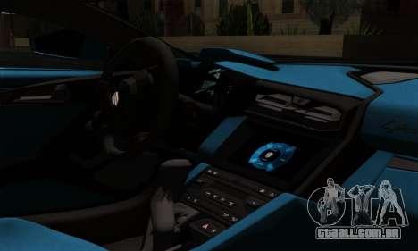 Lykan Hypersport 2014 EU Plate Livery Pack 2 para GTA San Andreas vista direita