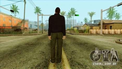 Claude from GTA 5 para GTA San Andreas segunda tela