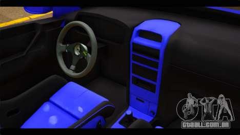 Opel Bertone Cabrio para GTA San Andreas vista direita