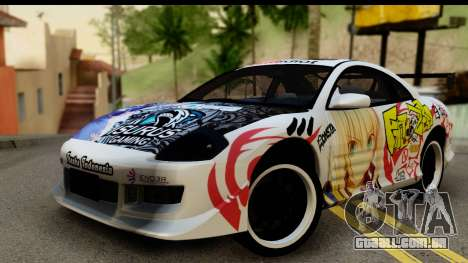 Mitsubishi Eclipse 2003 Fate Zero Itasha para GTA San Andreas