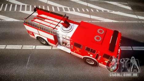 GTA V MTL Firetruck para GTA 4 vista direita