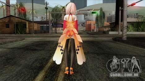 Inori (Guity Crown) para GTA San Andreas segunda tela
