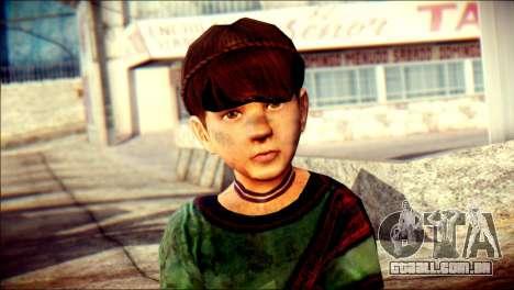 Child Vago Skin para GTA San Andreas terceira tela