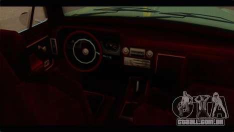 Chevrolet 56 para GTA San Andreas vista direita