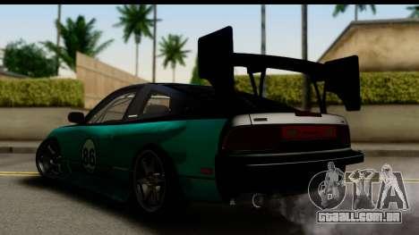 Nissan 200SX S13 Skin para GTA San Andreas esquerda vista