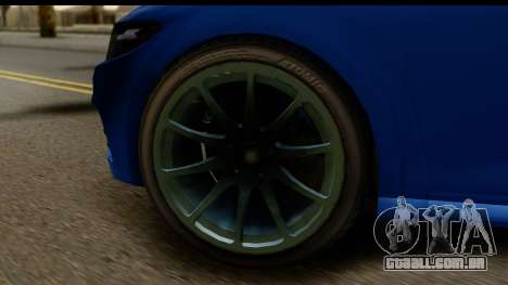 GTA 5 Dinka Blista para GTA San Andreas vista traseira