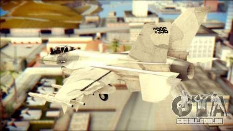 P-996 Lazer para GTA San Andreas esquerda vista