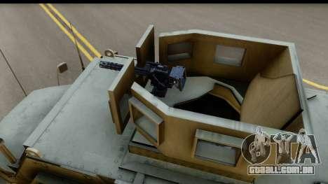 International MaxxPro MRAP para GTA San Andreas vista direita
