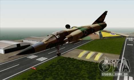 Dassault Mirage III AFI para GTA San Andreas