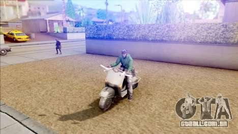 Piaggio Vespa para GTA San Andreas