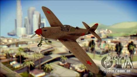 Pokryshkin P-39N Airacobra para GTA San Andreas