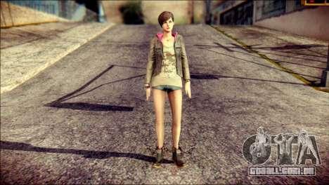 Moira Burton from Resident Evil para GTA San Andreas