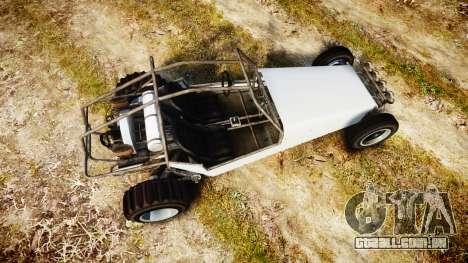 GTA V BF Dune Buggy para GTA 4 vista direita