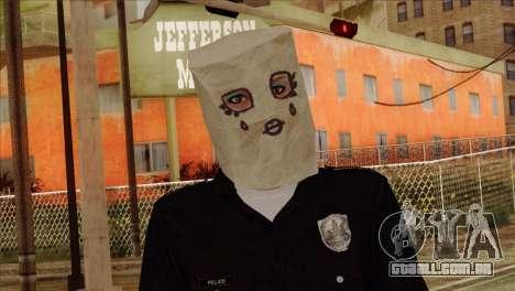 Skin 3 from Heists GTA Online DLC para GTA San Andreas terceira tela